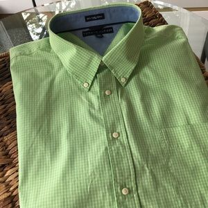 Tommy Hilfiger Men's Green checkered Shirt Size 3X